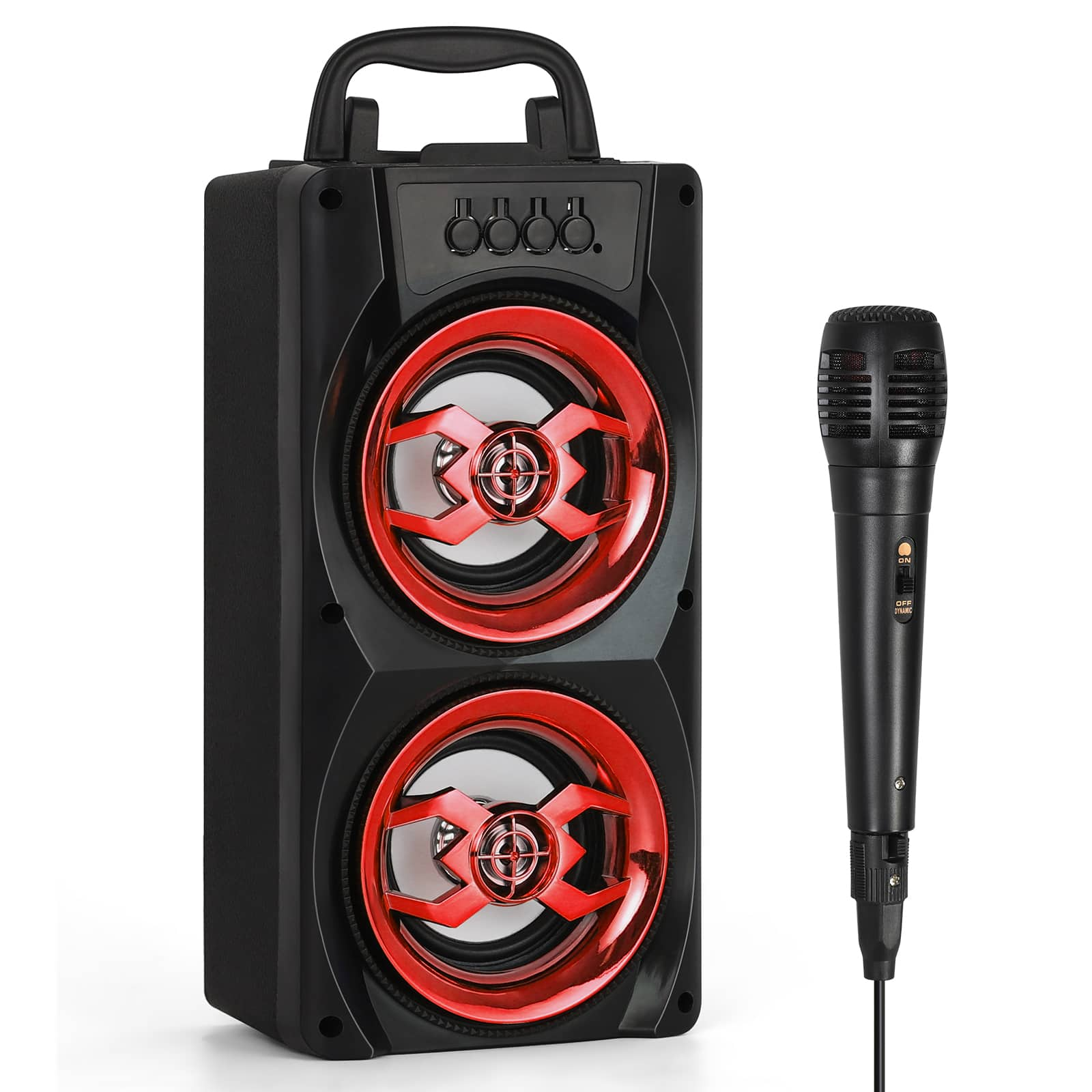 Portable Wireless Bluetooth Speakers Subwoofer for Party $13.97 at Walmart