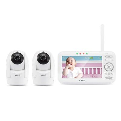 "VTech 5"" Digital Video Monitor PTZ with 2 Cameras $84.99"