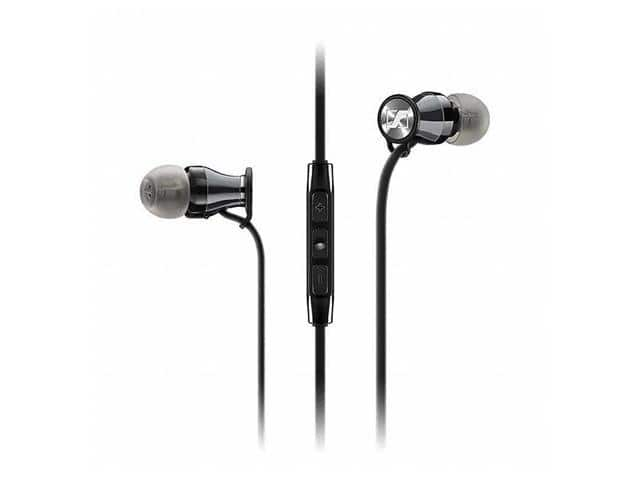 Sennheiser M2 IEi (507406) HD 1 In-Ear Headphones for iPhone, iPad, and iPod (Black/Chrome) $32.95