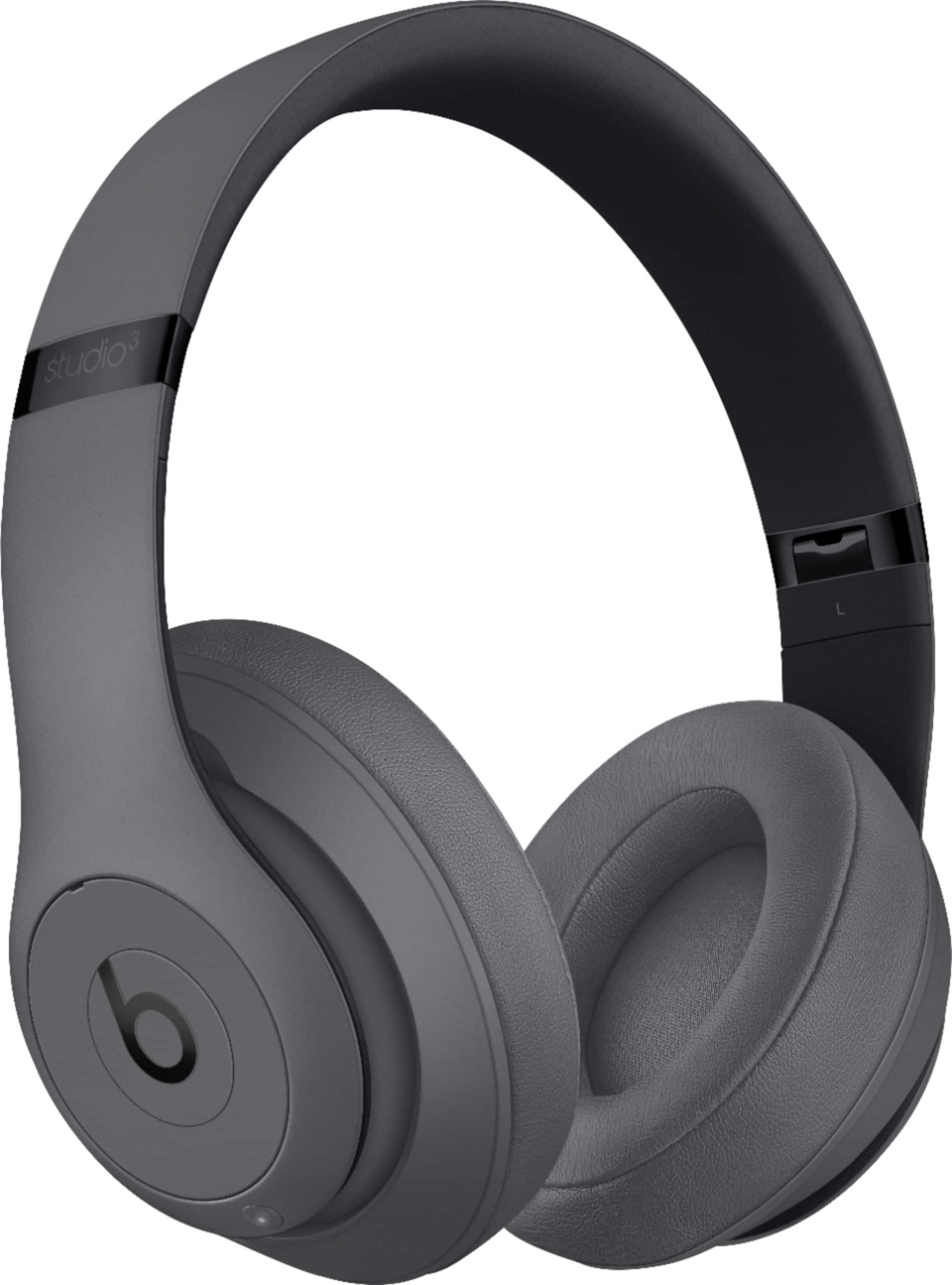 Beats by Dr. Dre - Beats Studio³ Wireless Noise Canceling Headphones - Gray & Desert Sand $199.99