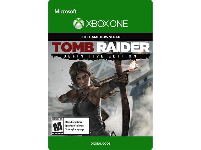 Tomb Raider: Definitive Edition XBOX One [Digital Code] $5.99