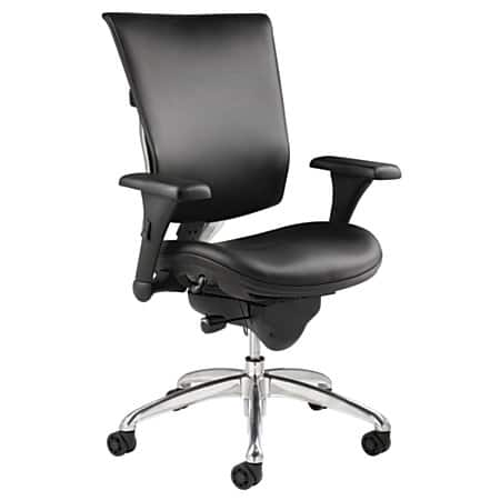 Office Chair - $99.95 pre-tax (was $499.99) [In-Store Office Depot Clearance YMMV] - WorkPro® 768E Commercial Leather High-Back Chair Black