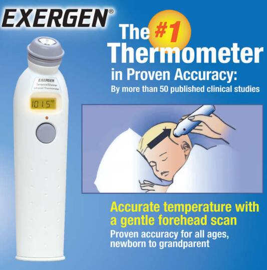 Upcoming Exergen Thermometer Deal at Costco - Free or Better