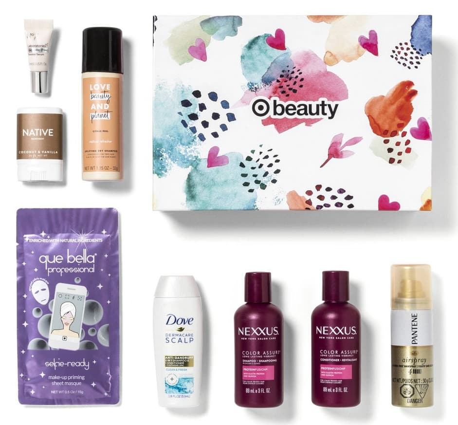 8-Piece Target February Beauty Box $7 + Free S&H