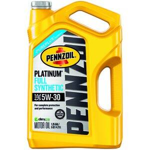 5-Quart Pennzoil / Mobil1 / Valvoline / Castrol /  Synthetic Motor Oil $16 After Rebate + Free Pickup at Pep Boys