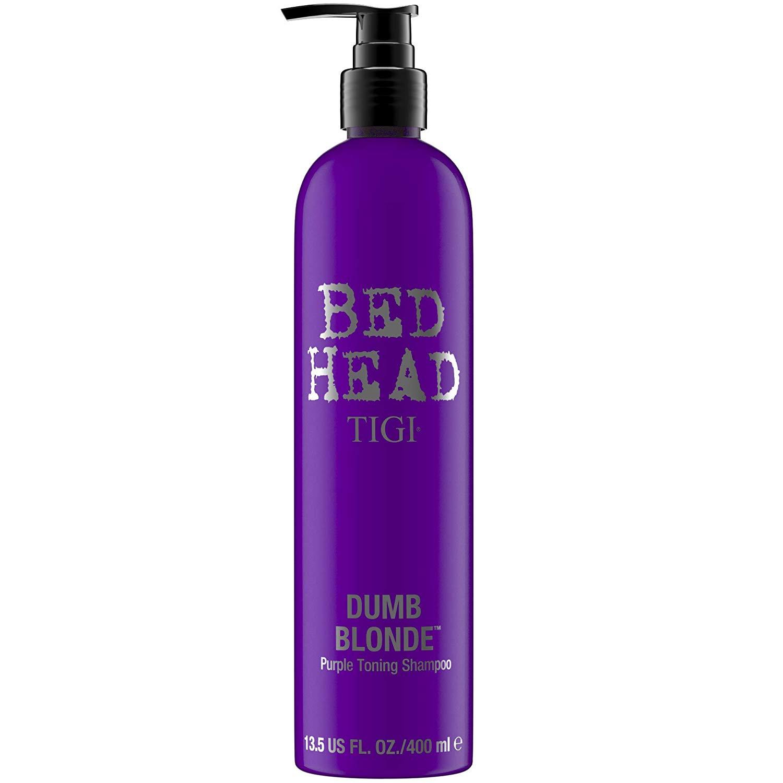 TIGI Bed Head Dumb Blonde Purple Toning Shampoo, 13.5 oz, Amazon/Walmart $6.81