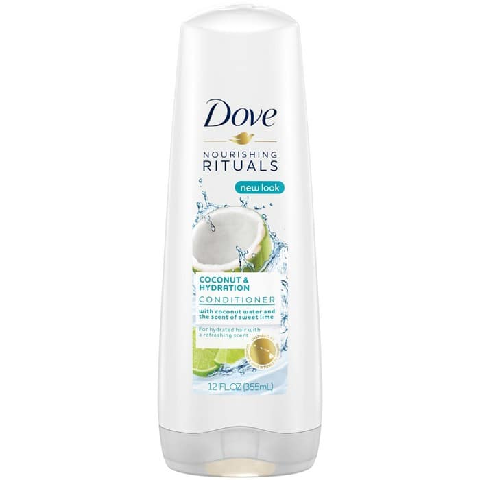 4 x Dove Nutritive Rituals Coconut & Hydration Conditioner  + $5 Gift Card at Target $7.97