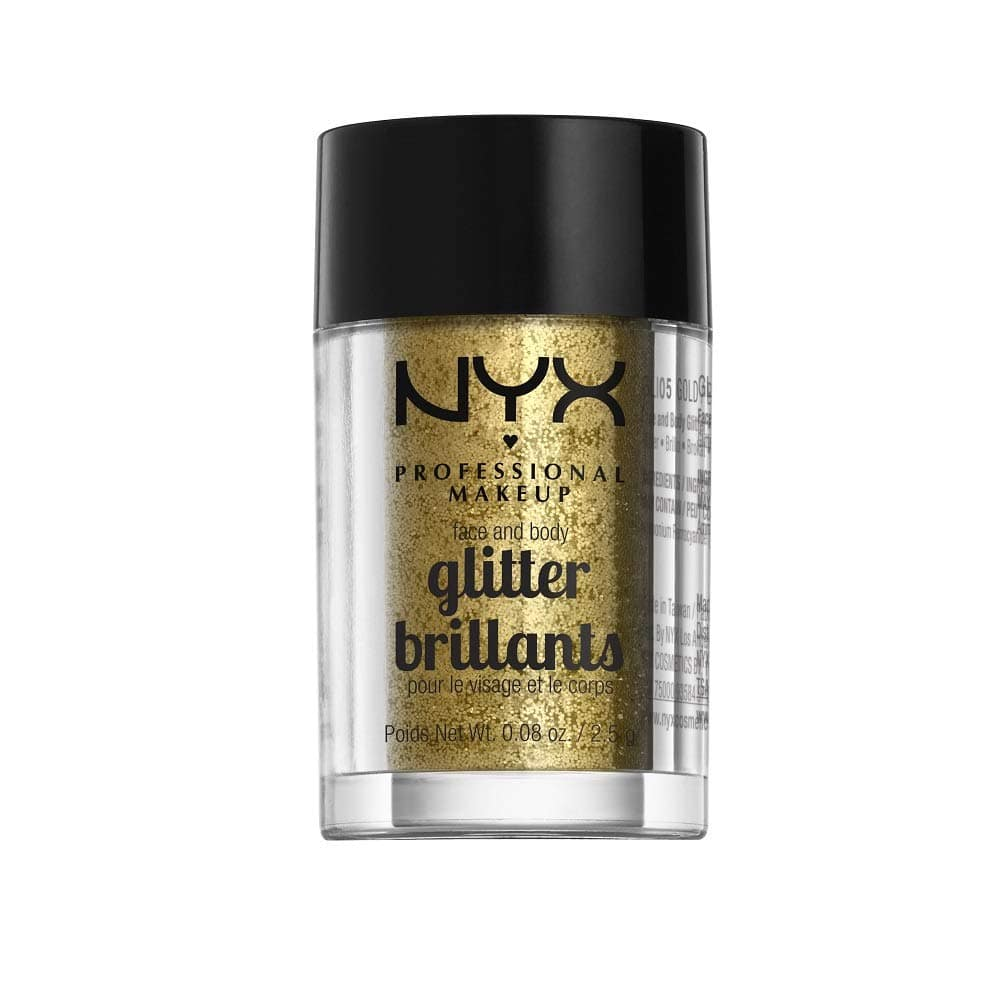 NYX PROFESSIONAL MAKEUP Face & Body Glitter at Walmart & Amazon $2.43
