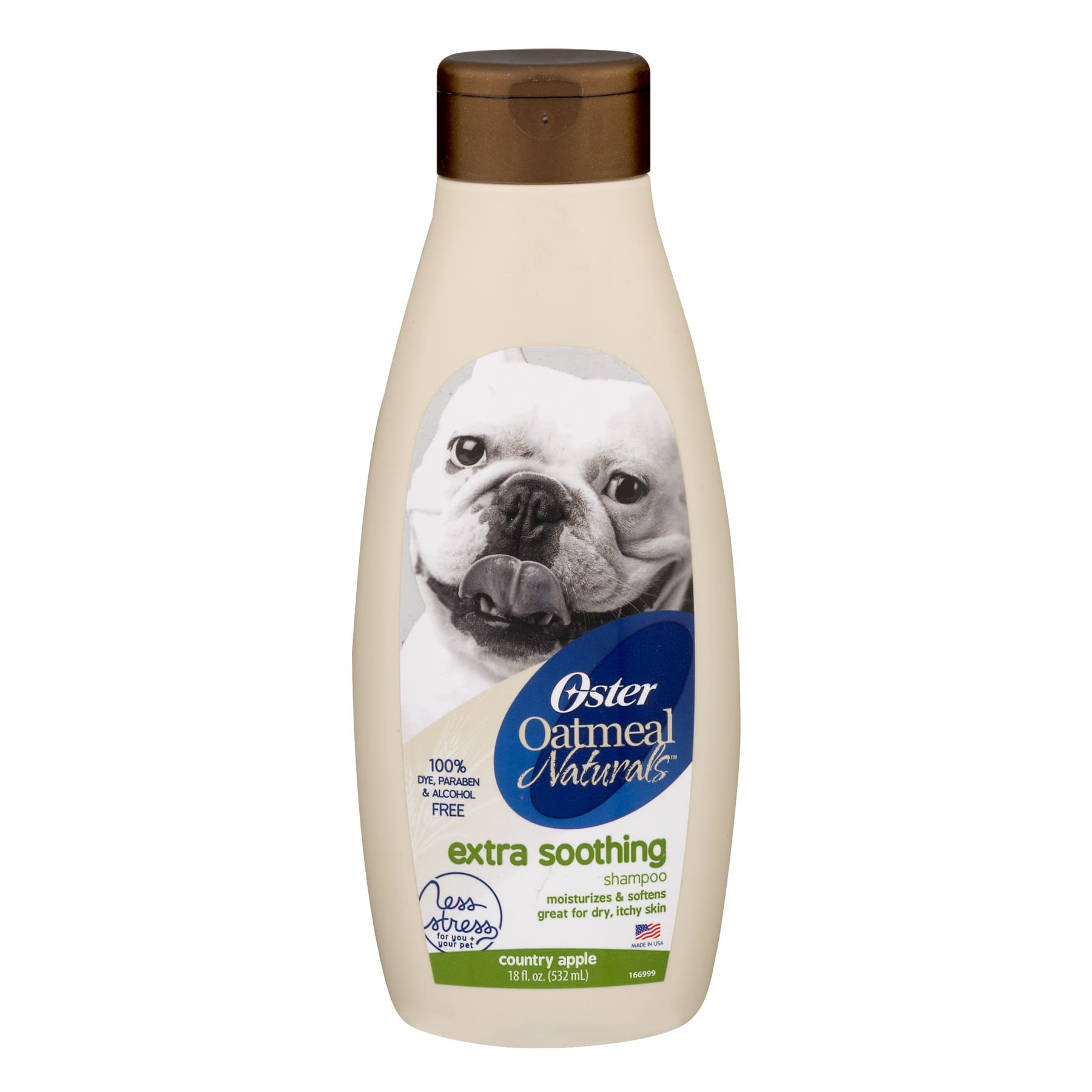 Oster Oatmeal Naturals Extra Soothing Dog Shampoo with Country Apple Scent, 18 oz., Walmart $1.62