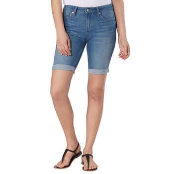 Calvin Klein Ladies' Bermuda Short at Costco $4.99, and other Women's Clothing Clearance
