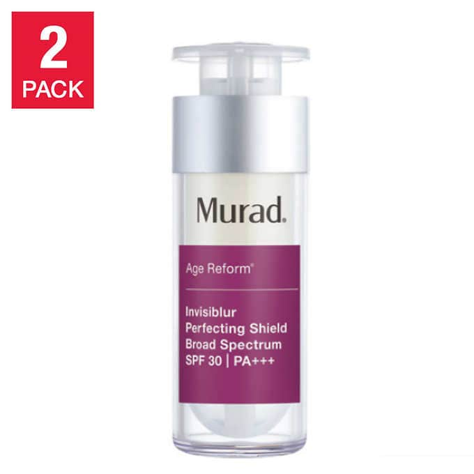Murad Invisiblur Perfecting Shield SPF 30, 1 oz, 2-pack (Free Shipping), Costco.com $39.97