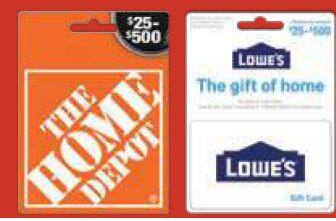 ShopRite: Save $10 on Groceries with $50 in Home Depot and Lowe's Gift Cards