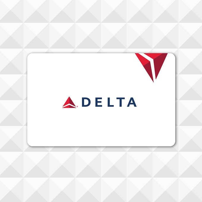 Costco Members: Delta Air Lines $500 eGift Card $450