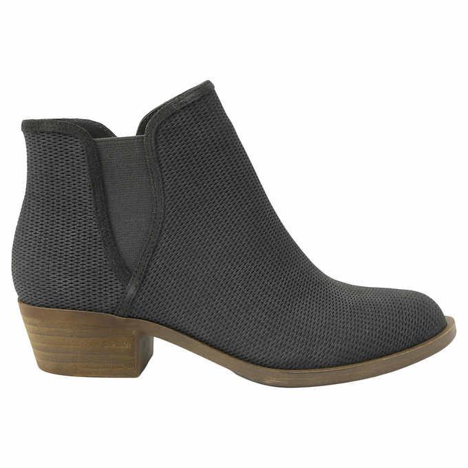 Kensie Ladies' Short Suede Boot Sz 6.5 (Free Shipping) , Costco $9.97