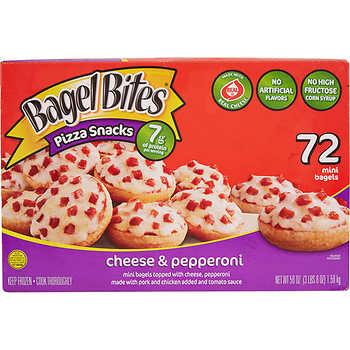 Bagel Bites Pizza Snacks, 72 count,  BOGO Free, Costco B&M
