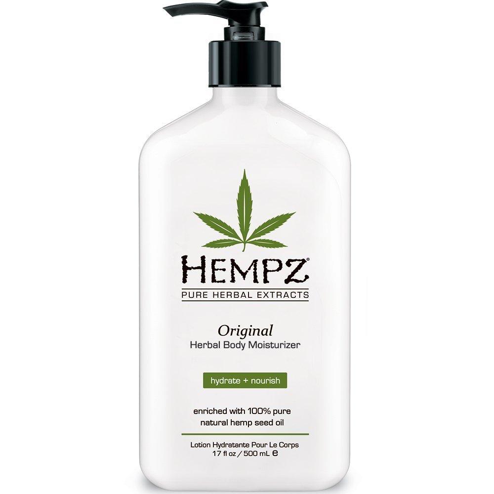 Hempz Original, Natural Hemp Seed Oil Body Moisturizer with Shea Butter and Ginseng, 17 Fl Oz, w/ 5% S&S Amazon,  $6.31