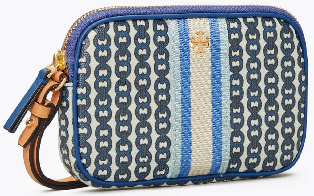 Tory Burch Up to 70% Off: Flip Flops $29, Gemini Link Canvas Wristlet  $49 & More  + Free Shipping