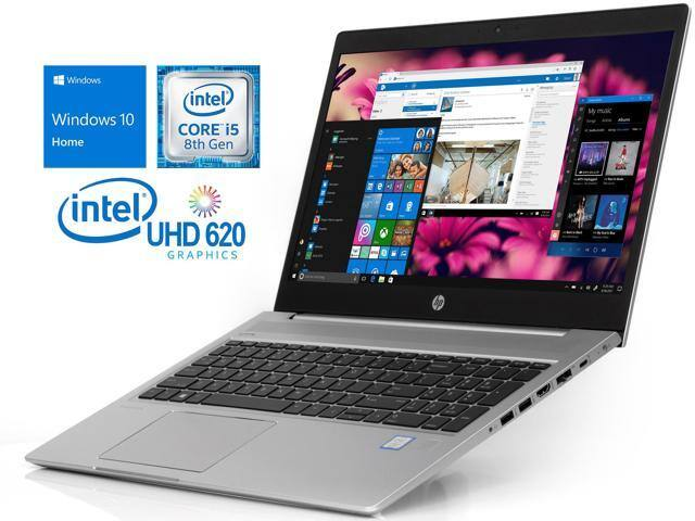 "HP ProBook 450 G6 Notebook, 15.6"" HD Display, Intel Core i5-8265U, 8 GB RAM, 128 GB SSD, Windows 10 Home $499.99"
