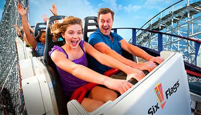Six Flags: Buy 2+ Season Passes & Get Free Parking & Admission for 2013 & 2014, Free Gold Pass Upgrade. $55 and up (Discover and Paypal payment only)