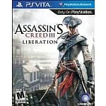 Assassin's Creed III: Liberation for PS Vita - $18.99 @ Amazon, Prime Eligible