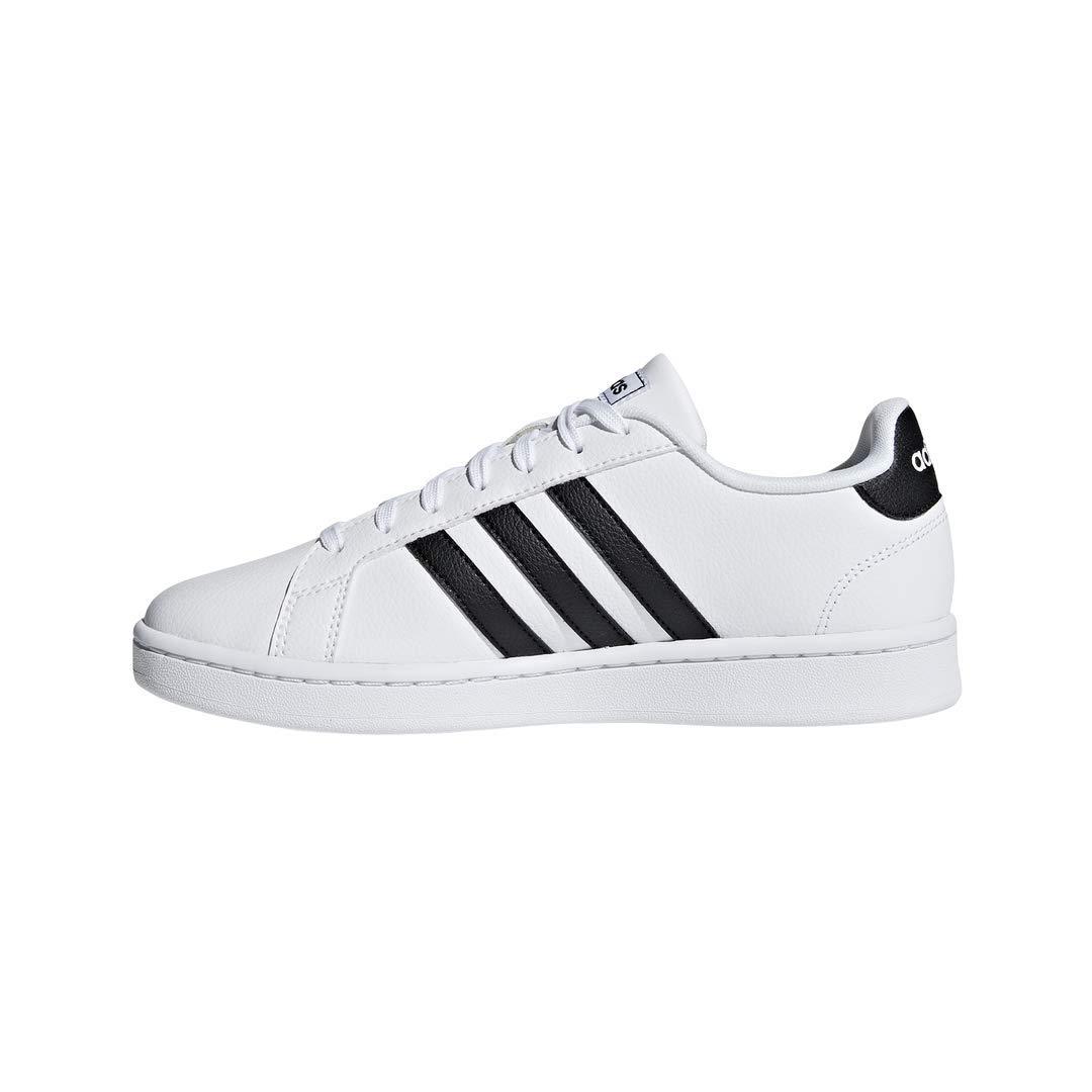 Adidas Women's Grand Court Sneaker- White/Black/White - $29.95 on Amazon