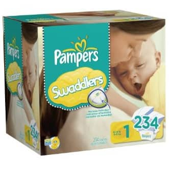 Pampers Swaddlers as low as $0.14 a diaper