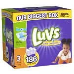 Luvs With Ultra Leakguards Diapers - $2 off coupon for Size 3 & 4. As low as $0.13 per diaper.