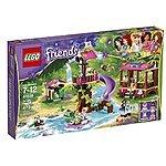 Lego Friends Sale - Jungle Rescue Base - $45.59 ; Heartlake Juice Bar $22.79 ; Jungle Bridge Rescue - $22.79 ; Heartlake Hair Salon  - $22.79 w/FS