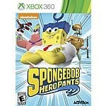 Spongebob Hero Pants The Game 2015 : XBox 360 - $19.99 ; Nintendo 3DS, Playstation Vista - $14.99