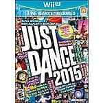Just Dance 2015 - Wii U - $16.91 ; PS3 & PS3 - $19.99