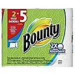 Bounty Select-A-Size Paper Towels, Huge Rolls, White, 12 Count - $21.99 OR $20.79
