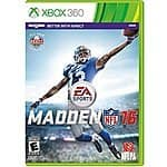 Madden NFL 16 : XBox 360 - $43.97 ; XBox One - $44.97 w/ Free Shipping