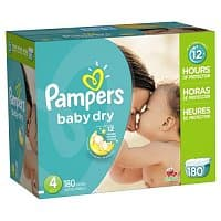 Amazon Deal: Pampers $3 off coupon - as low as $0.13 per diaper