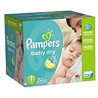 Amazon Deal: Pampers Baby Dry Diapers as low as $0.13 per diaper
