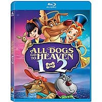 Amazon Deal: All Dogs Go to Heaven 1 and 2 [Blu-ray] - $8.99