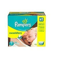 Amazon Deal: Pampers Swaddlers Size 1 as low as $0.149/diaper ; Size 4 as low as $0.223 w/ FS