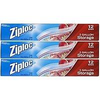 Amazon Deal: Ziploc Storage Bags 2 Gallon - 36 count : $10.47 or $11.27