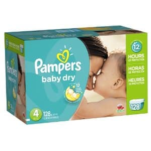 New $2.50 off coupon for Pampers Diapers on Amazon (Baby Dry, Swaddlers, & Cruisers)
