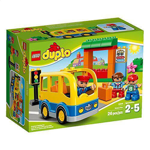 LEGO DUPLO Town School Bus 10528 Building Toy - $9.99 w/ Free Prime Shipping