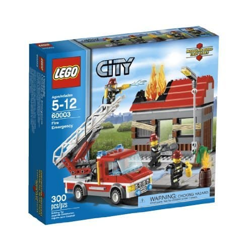 LEGO City Fire Emergency (60003) - $20.99 w/ Free Prime Shipping