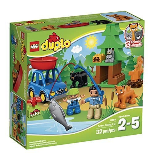 LEGO DUPLO Forest: Fishing Trip 10583 - $15 (40% off MSRP) w/ Free Prime Shipping