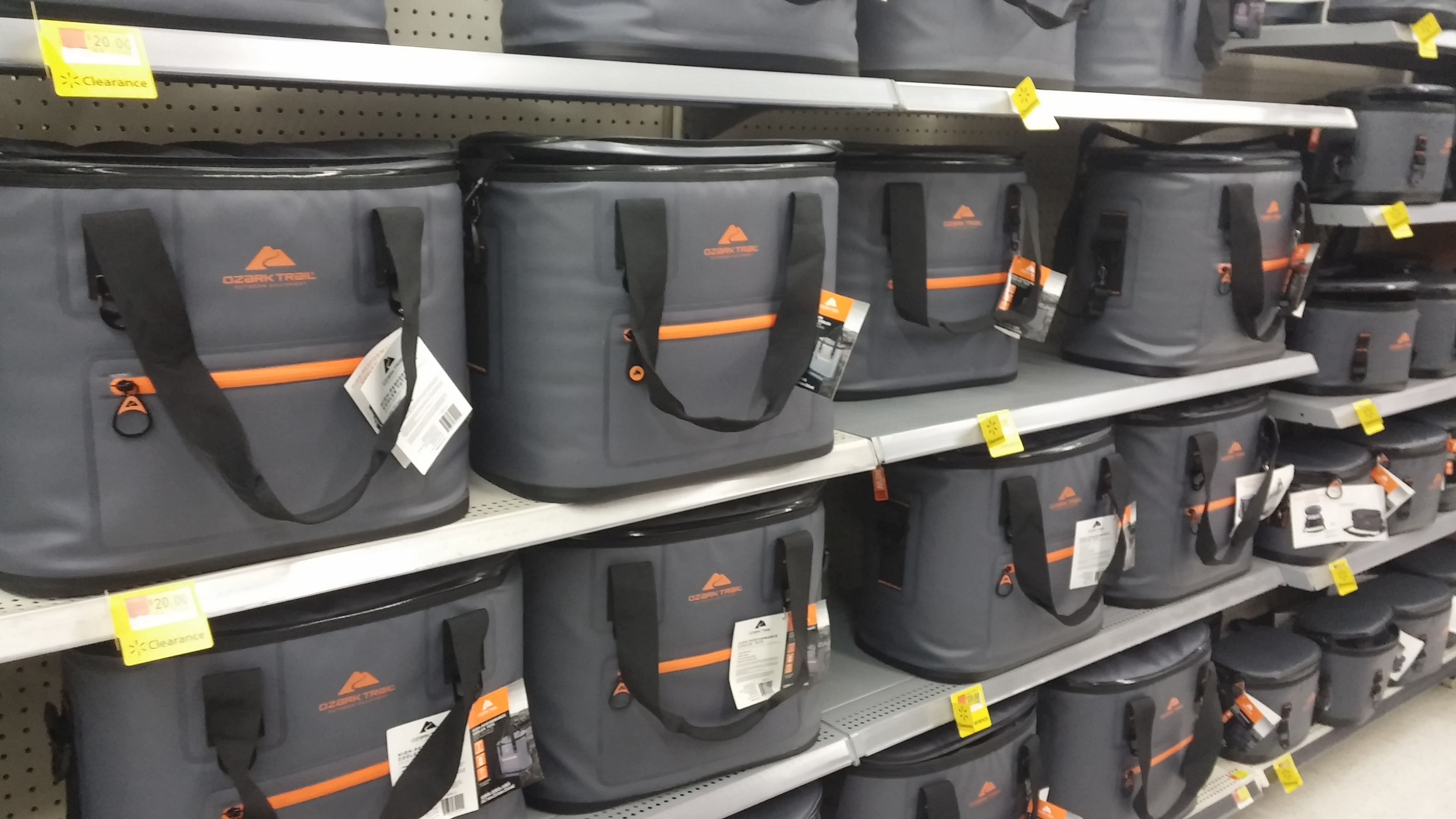 Ozark Trail Jumbo Cooler -  $10 to $35 YMMV Walmart In-Store Only
