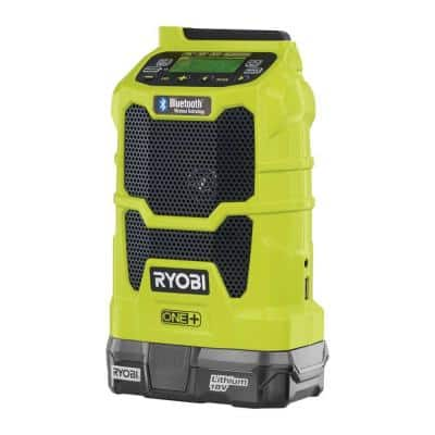 Ryobi ONE+ 18-Volt Lithium-Ion Cordless Compact Radio, Battery and Charger Kit $24 B&M YMMV