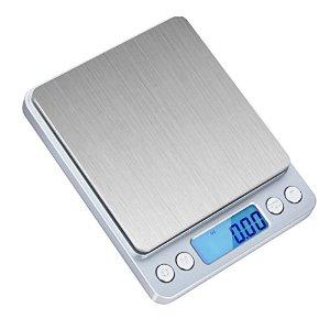 SKYROKU KS-486 Digital Kitchen Food Scale with Backlit Display for $8.79