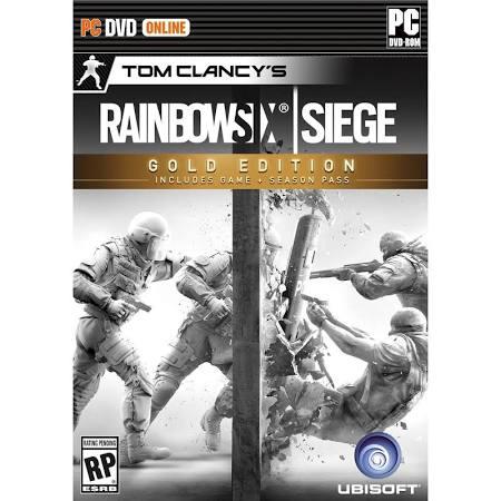 Tom Clancy's Rainbow Six Siege Gold Edition PC Game $29.99
