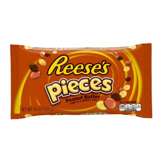 REESE'S PIECES Candy (15-Ounce Bag) - $2.67 @ Amazon.com w/S&S