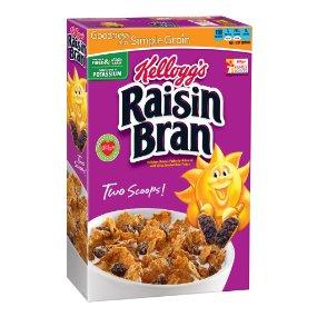 Kellogg's Raisin Bran, 18.7 Ounce (Pack of 3) - $5.13 @ Amazon.com w/S&S and 25% coupon