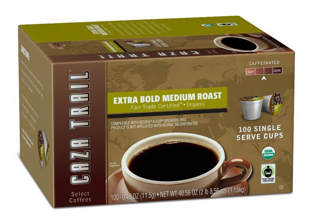 Caza Trail Coffee K-Cups - 100 count - $24.50 @ Amazon.com w/S&S + 30% Coupon