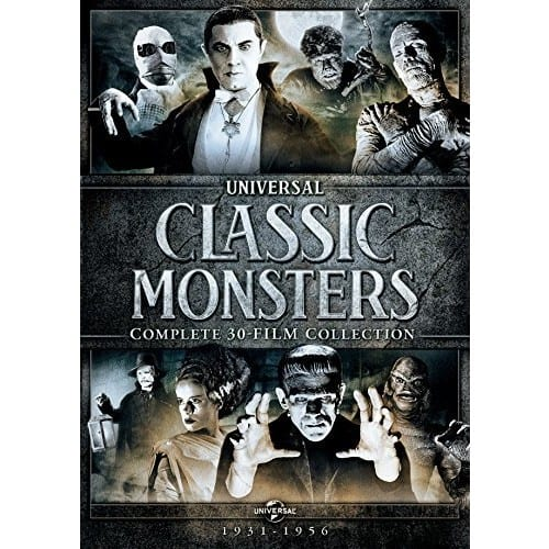 Universal Classic Monsters: Complete 30-Film Collection - DVD - 21 Discs - $49.99 @ Amazon.com