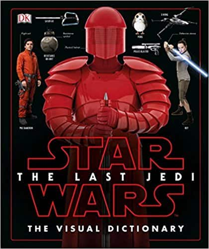 Star Wars The Last Jedi The Visual Dictionary Hardcover - $14.20 @ Amazon.com